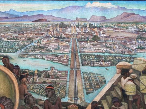 Illustrazione Tenochtitlán