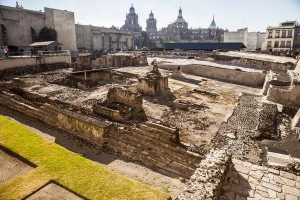 Templo Mayor a Città del Messico