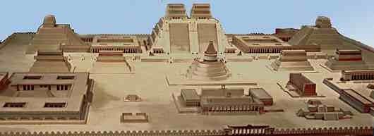 Tenochtitlán ricostruzione 3D.4