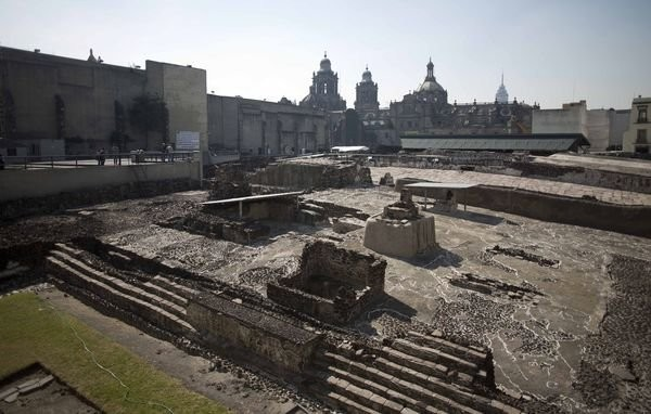 Un misterioso tunnel sotto il Templo Mayor