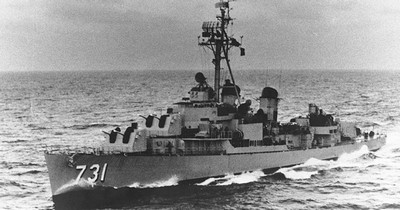 cacciatorpediniere USS Maddox