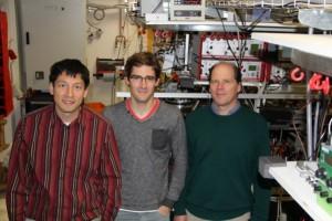 tre co-autori dello studio