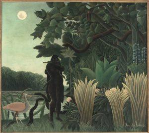 Hadot - Henri Rousseau L'Incantatrice di serpenti 1907 Olio su tela cm167 x 1895 Parigi Musée d'Orsay © RMN-Grand Palais Musée d'Orsay- Hervé Lewandowski