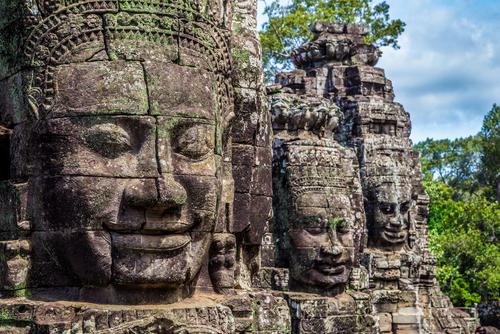 Elicotteri provvisti di laser scoprono antiche città cambogiane