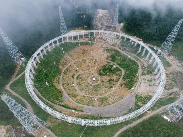 FAST: il più grande radiotelescopio del mondo apre nuovi orizzonti