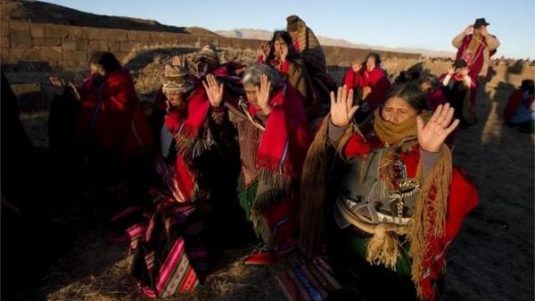 Il Presidente della Bolivia Morales vuole abrogare il calendario gregoriano