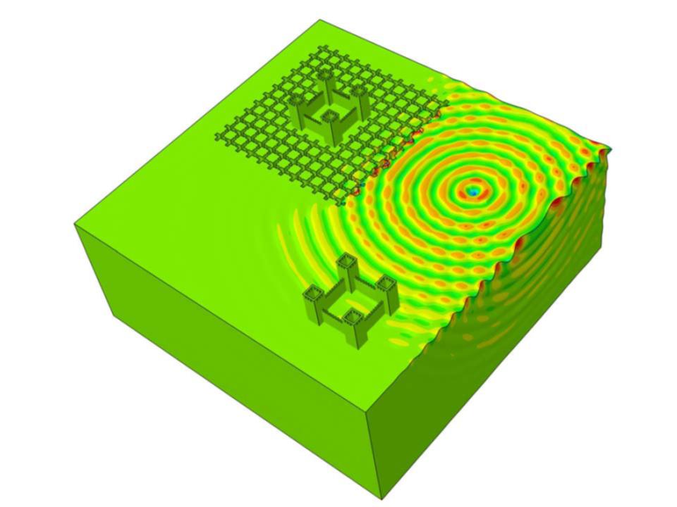 """""""Scudo"""" sismico, combattere i terremoti con metamateriali e modelli 3D"""