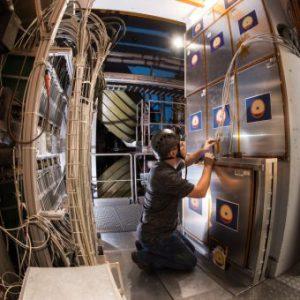 L'esperimento MoEDAL a LHC. Crediti. Brice, Maximilien/CERN