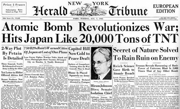 USA: il gigante in crisi e l'ombra di Hiroshima