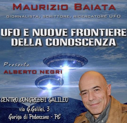 Conferenza di Maurizio Baiata: Ufo e Nuove Frontiere della Conoscenza