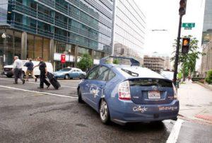 L'auto a guida autonoma di Google (KAREN BLEIER/AFP/GettyImages)