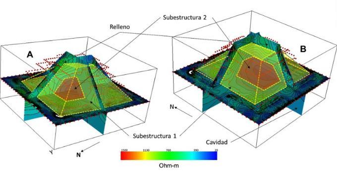 Scoperta una seconda piramide all'interno della struttura Maya di Chichen Itza 2