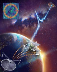 Localizzata l'origine d'un enigmatico lampo radio 1