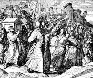 Bibbia, Giosuè: La caduta di Gerico