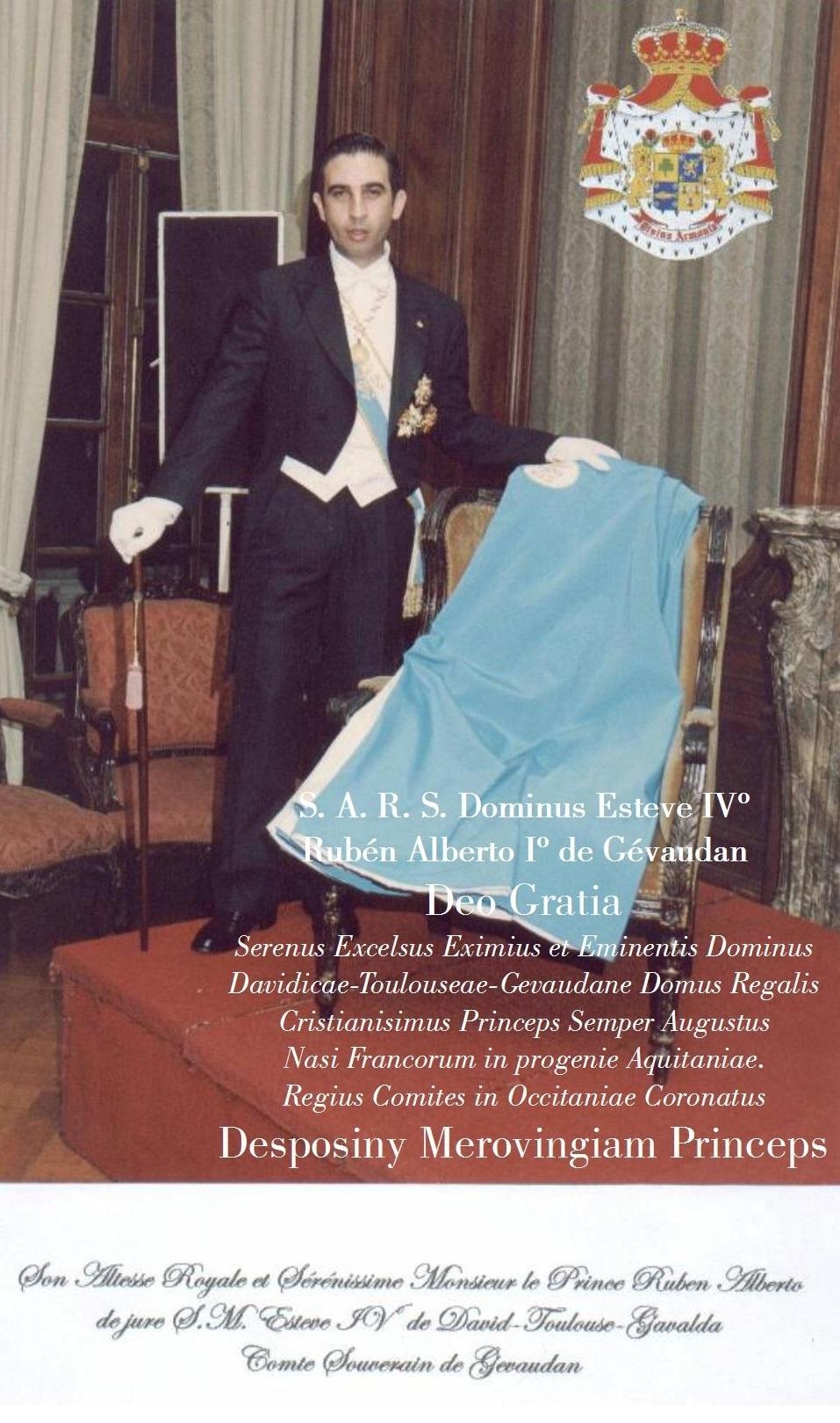 Principe Rubén Alberto de Gavaldà