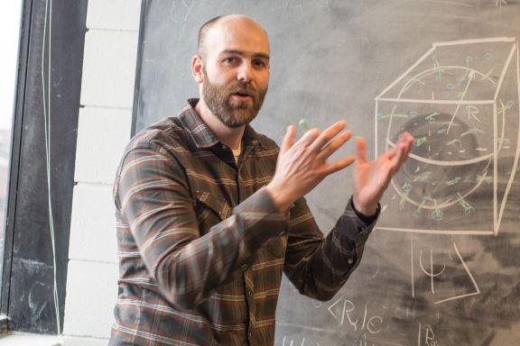 Elio superfluido: come fare un buco nero nell'elio