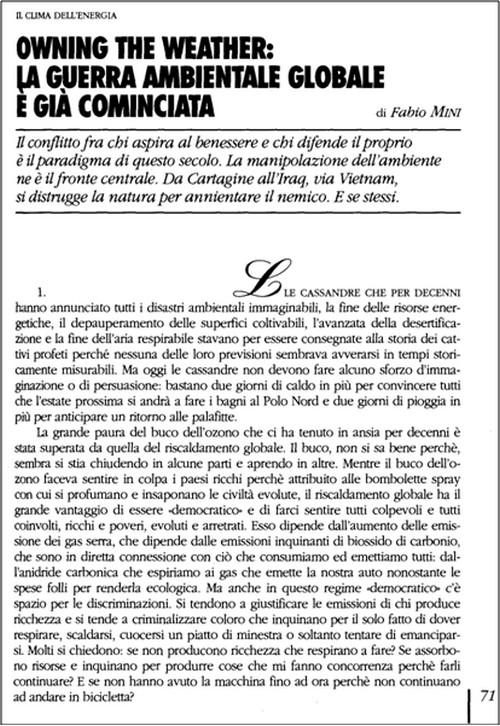 Nuovo attacco alla (contro) disinformazione da parte dei media di regime - Umberto Telarico - Parte prima 14