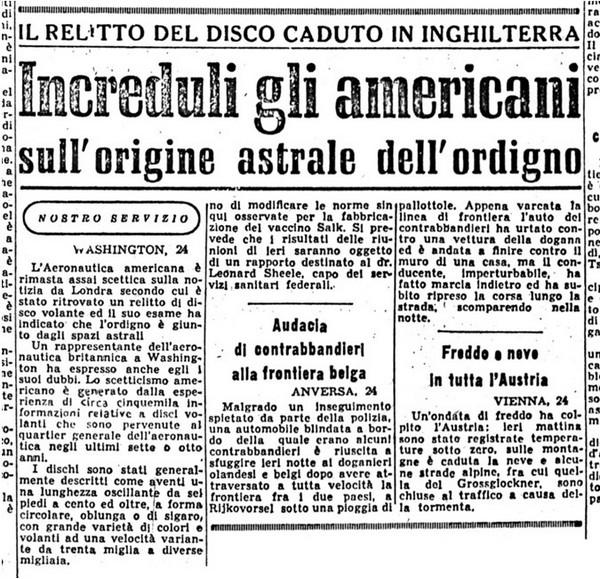 UFO nel passato: immagini e testimonianze di oltre 3000 anni di contatti di Umberto Telarico – Parte quinta 8