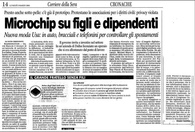 Nuovo attacco alla (contro) disinformazione da parte dei media di regime – Umberto Telarico - Parte seconda 12