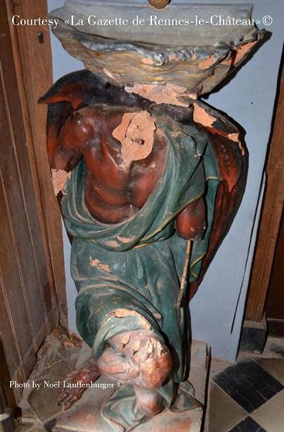 Simbologia della chiesa di Rennes le Château: il demone Asmodeo 3