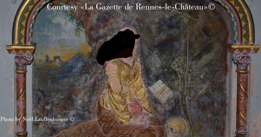 Simbologia della chiesa di Rennes le Château: il demone Asmodeo 4