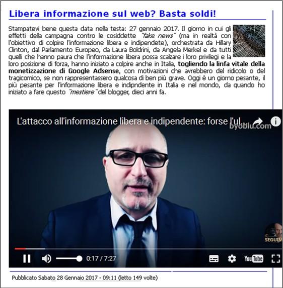 Nuovo attacco alla (contro) disinformazione da parte dei media di regime – Umberto Telarico – Parte terza 23