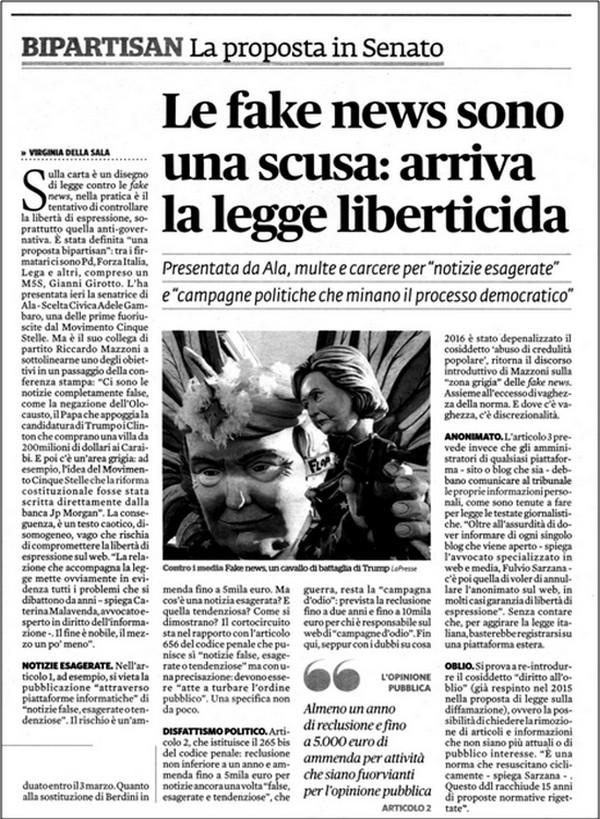 Nuovo attacco alla (contro) disinformazione da parte dei media di regime – Umberto Telarico – Parte terza 33