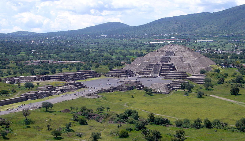 Teotihuacan, polo industriale