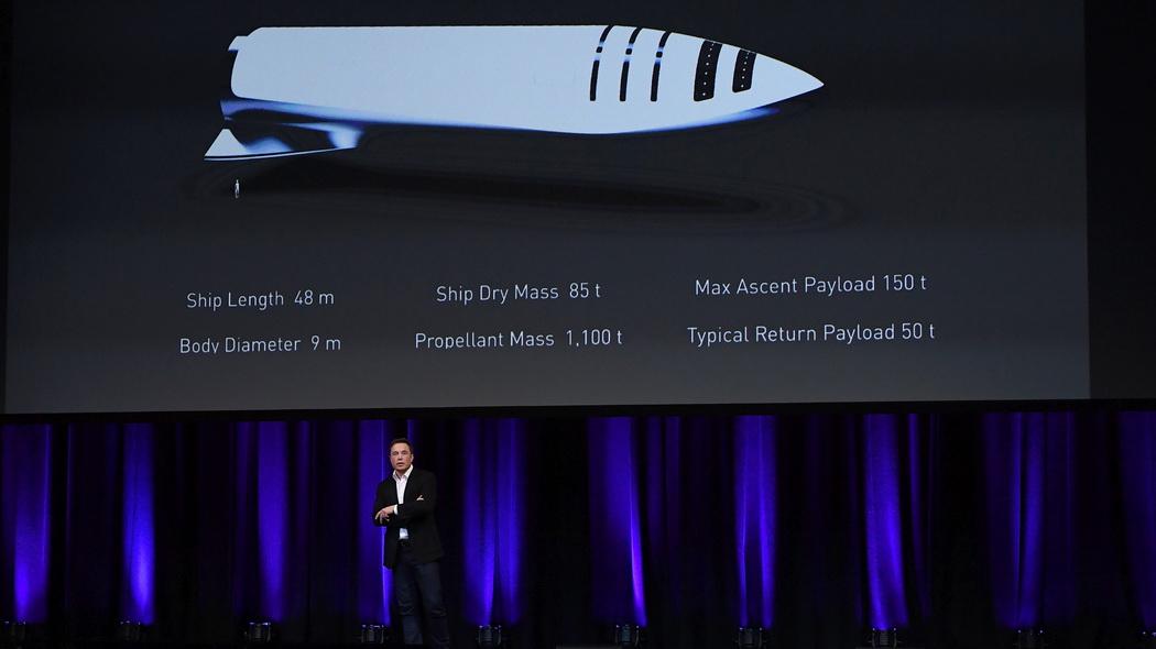 Ecco il nuovo razzo di Elon Musk, più potente per andare su Marte