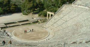Svelato il segreto dell'eccezionale acustica del Teatro di Epidauro dell'Antica Grecia 1
