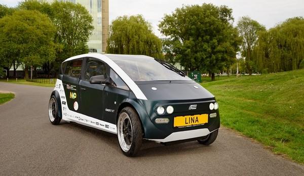 Dall'Olanda Lina, l'automobile biodegradabile fatta di lino e zucchero