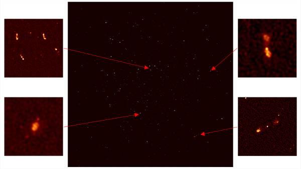 L'orecchio di Ska svela il cuore della Via Lattea 2