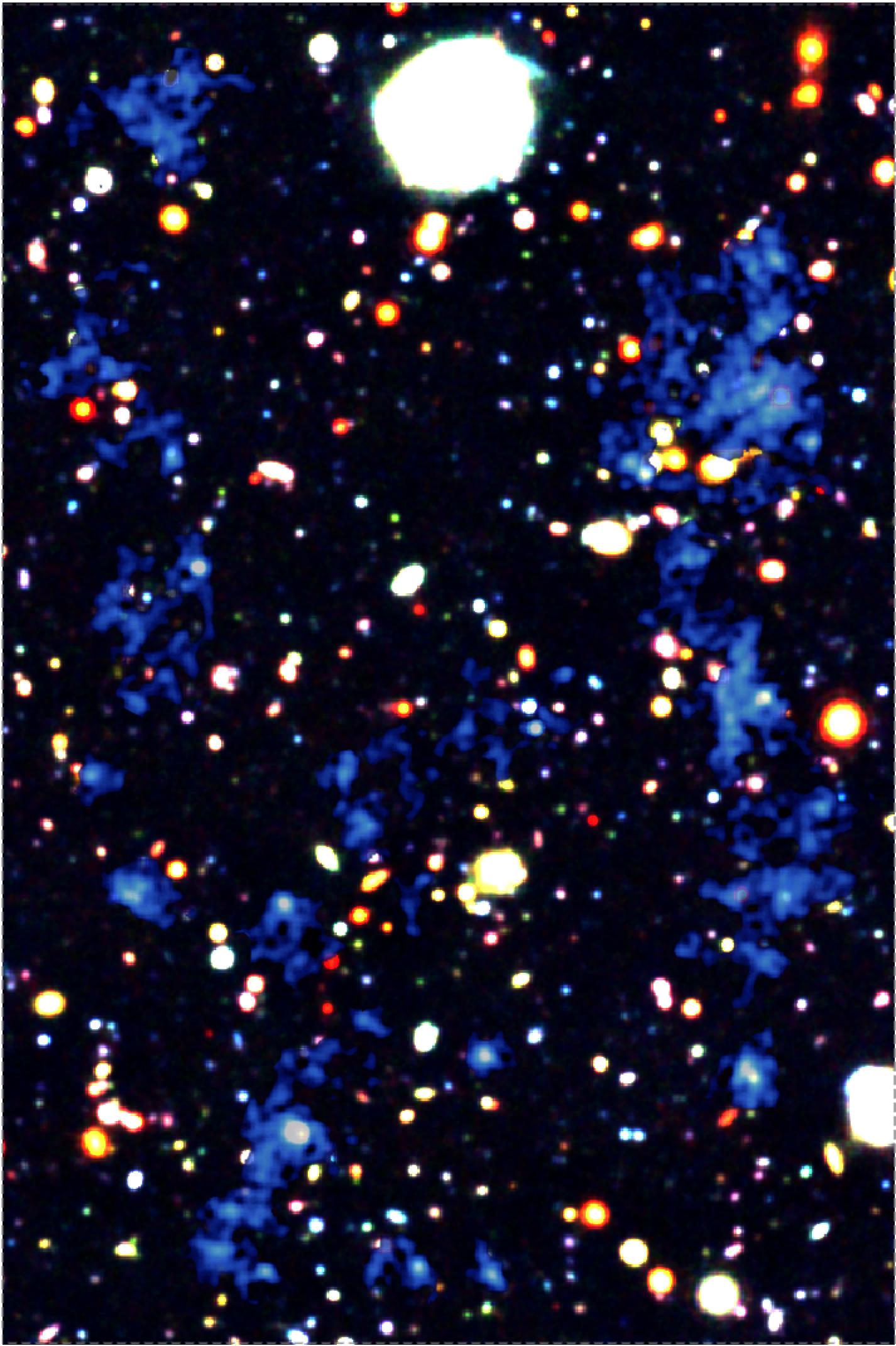 Non sappiamo perché, ma galassie anche molto lontane si muovono in sincrono 1