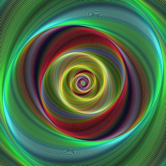Fusilli di luce per misurare lo spin del buco nero
