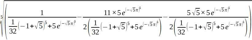Connessioni tra la matematica di Ramanujan ed alcuni settori della Fisica e della Cosmologia 1