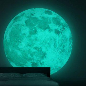 La fotoluminescenza della luna