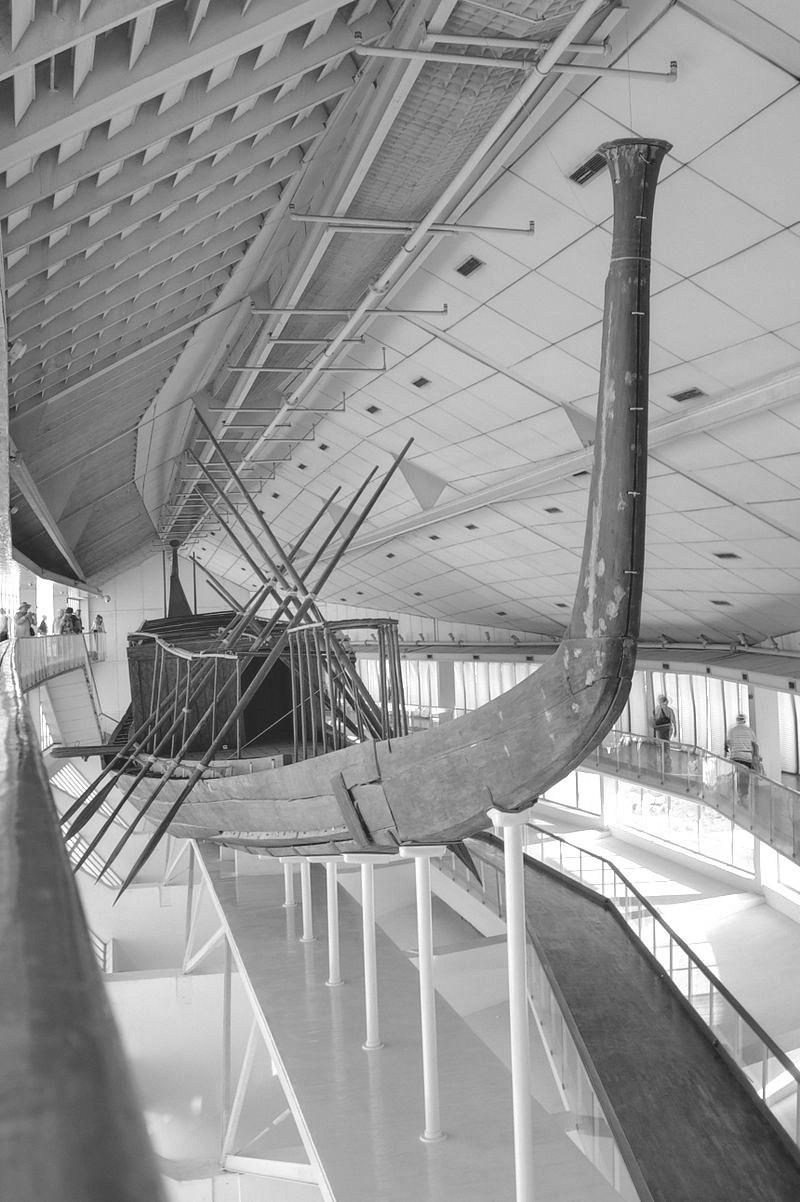 La barca solare di Cheope